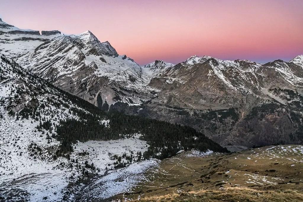 French Pyrenees Sunrise