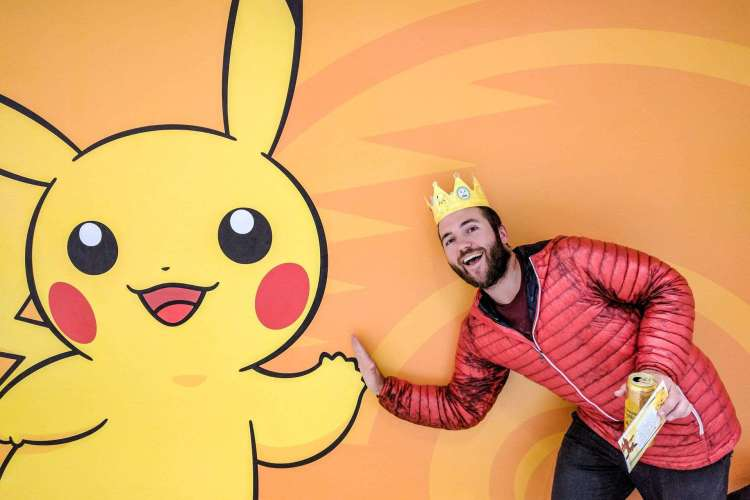 Mac and Pikachu