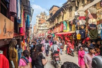 Kathmandu Nepal Street