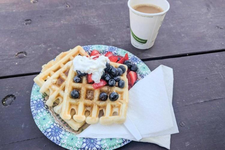 CDT Colorado Breckenridge Waffles