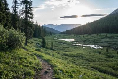 CDT Colorado Copper Mountain Trail