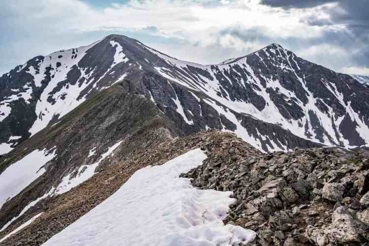 CDT Colorado Grays Peak Ridge
