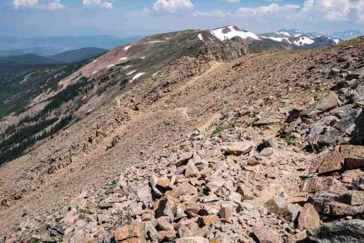 CDT Colorado James Peak Ridge