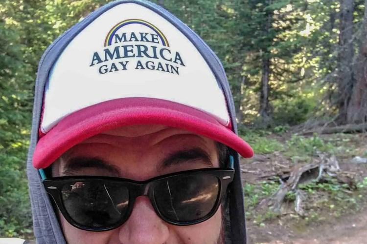 CDT Colorado Mac Hat Close
