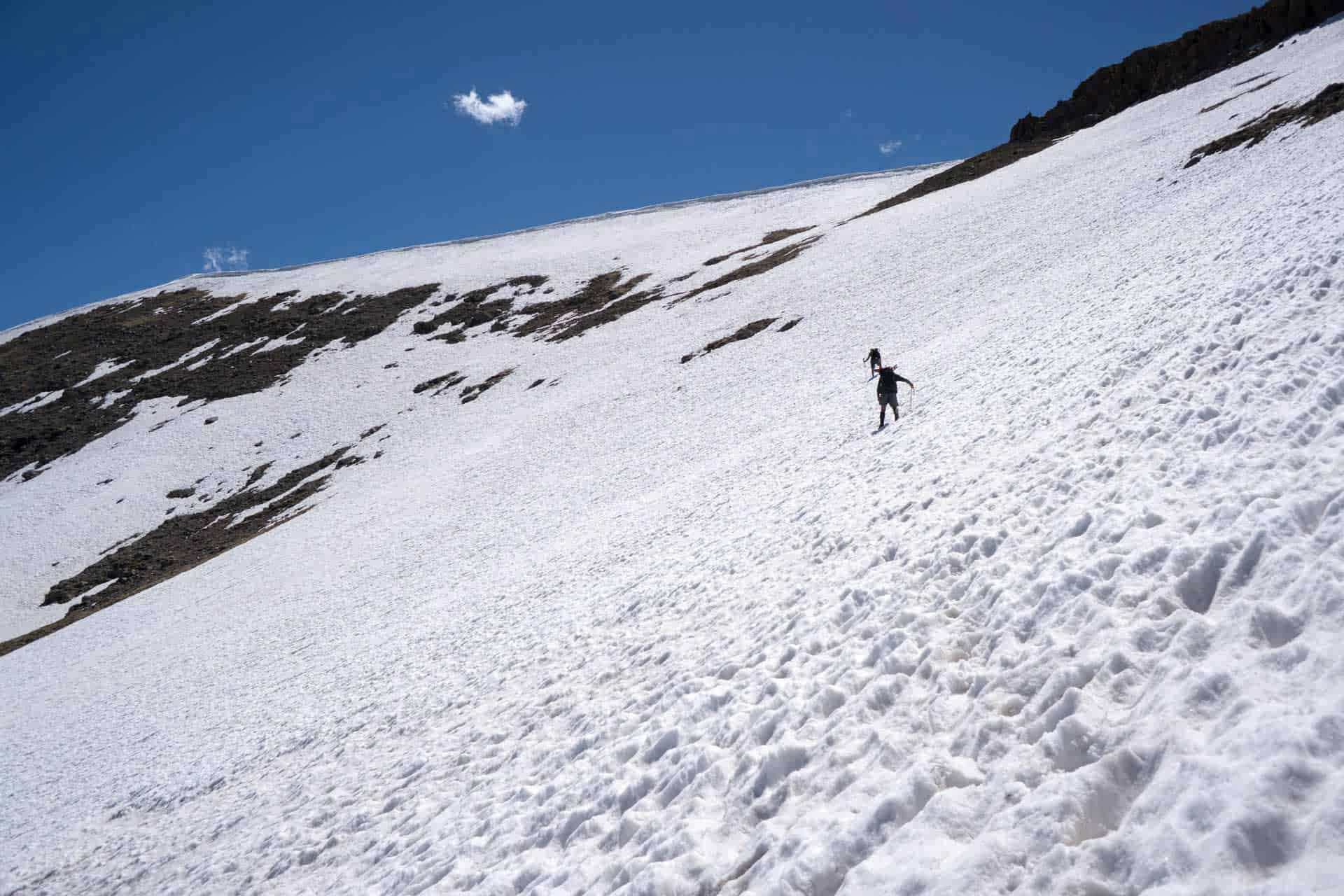 CDT Colorado San Juan Mountains Snow Traverse