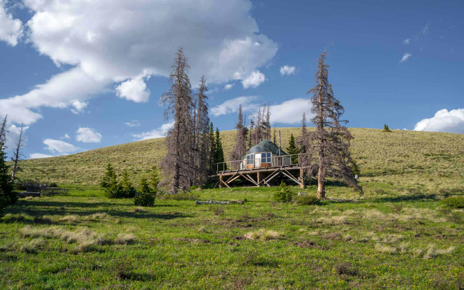 CDT Colorado San Juan Mountains Yurt 2