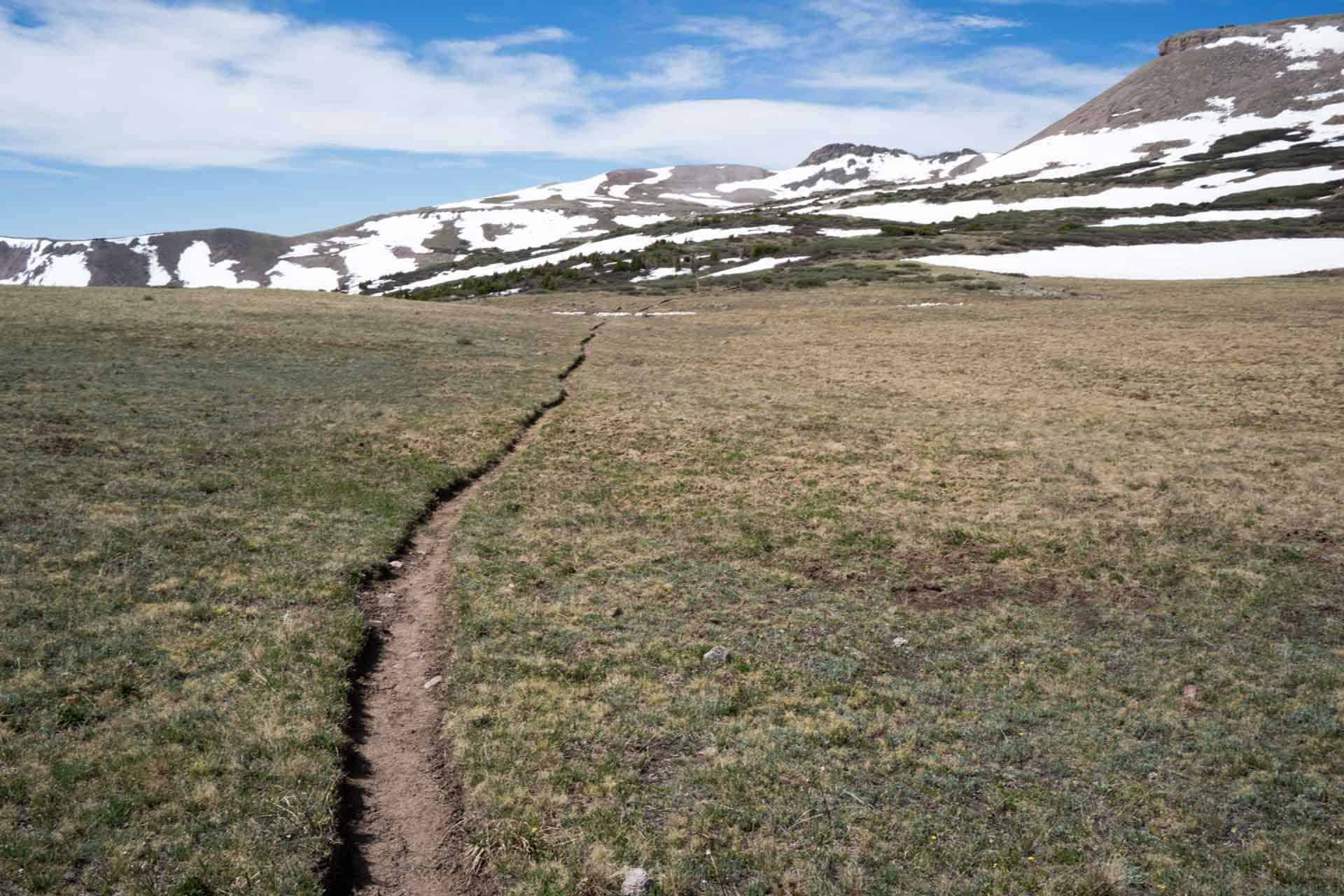 CDT Colorado San Juan Mountains Dry Trail
