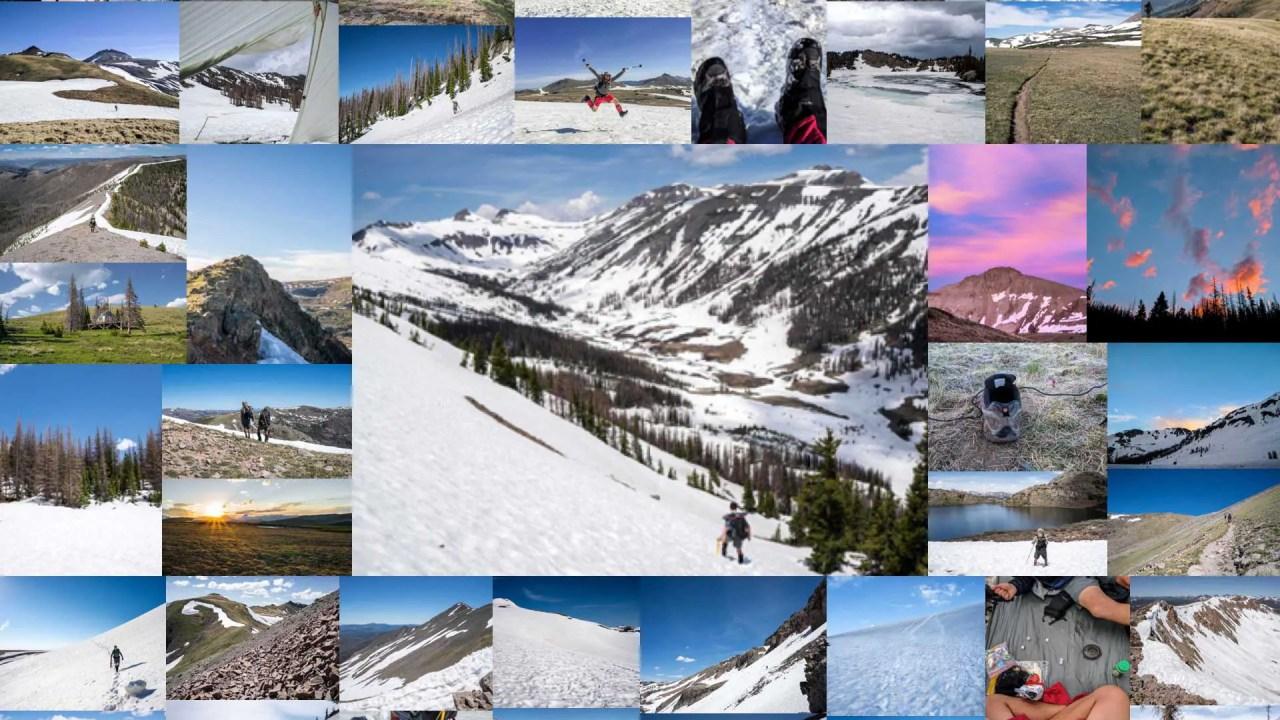CDT Colorado San Juan Mountains