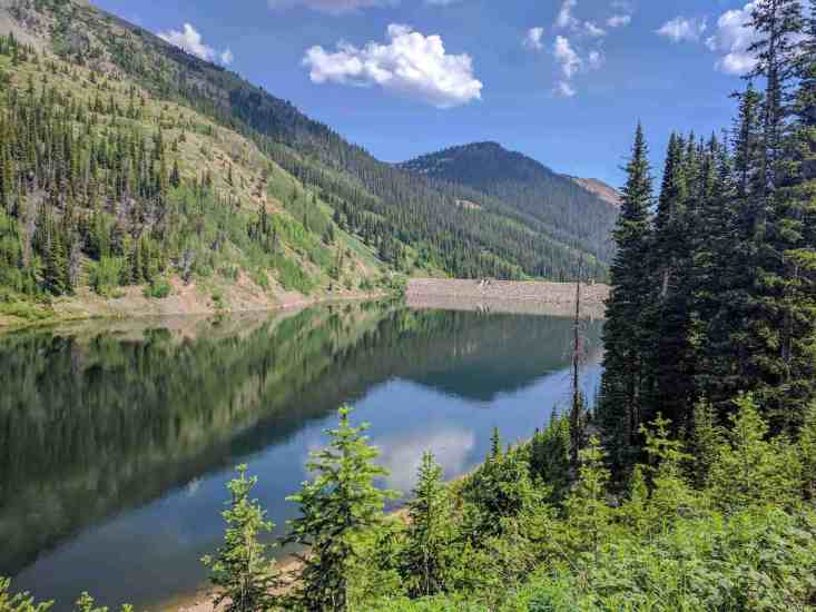 CDT Colorado Shortcut Dam