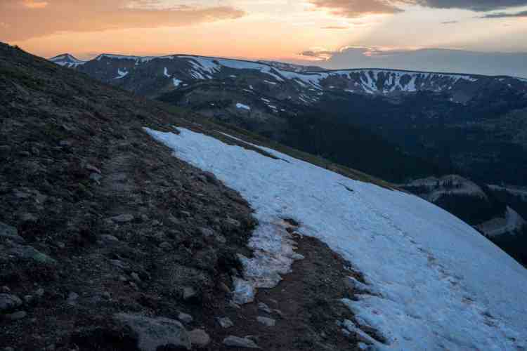 CDT Colorado Winter Park Snowfield