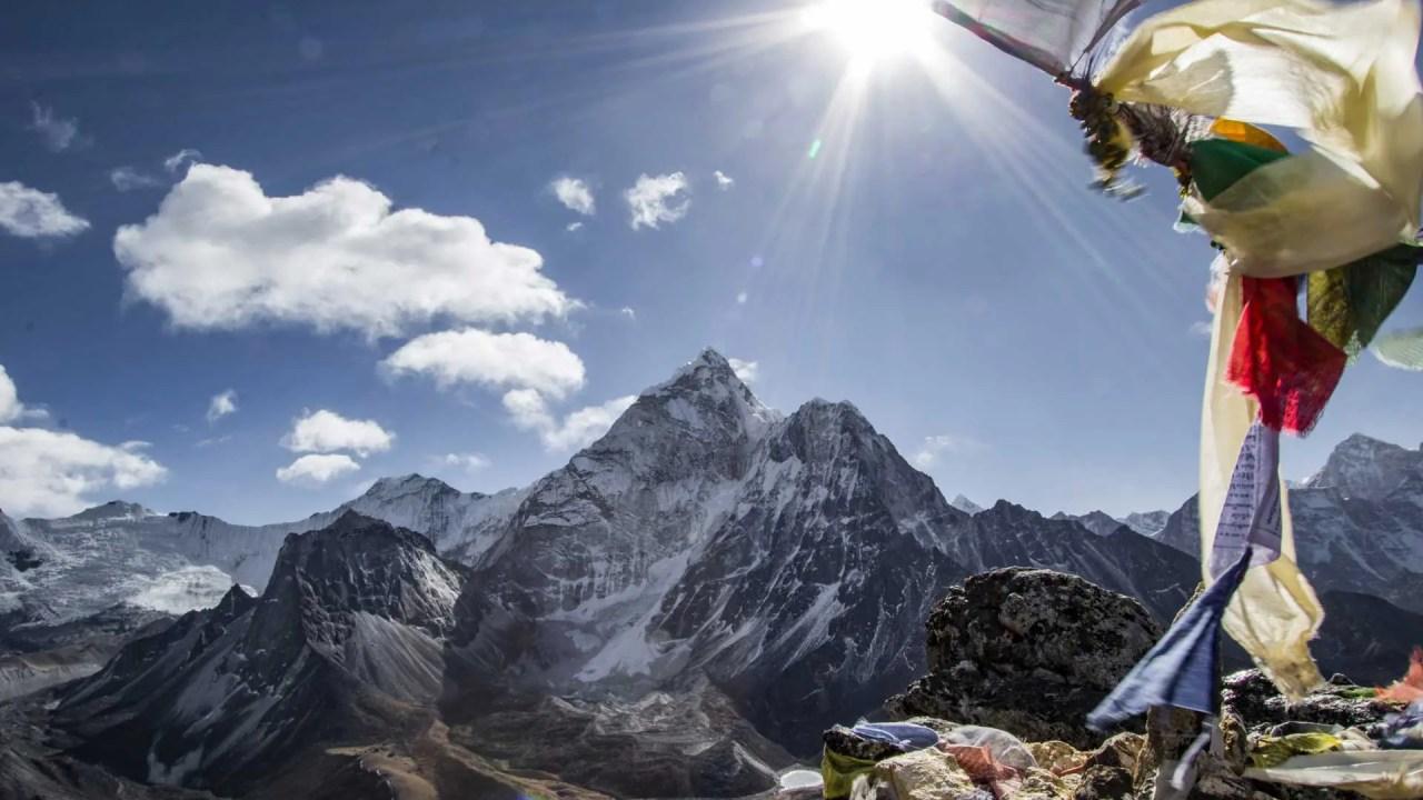 Nepal Three Passes Trek Map