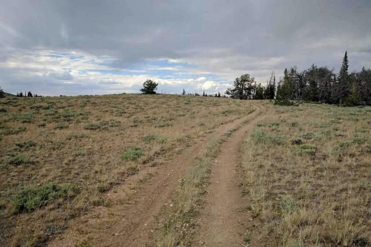 CDT Wyoming Dirt Road