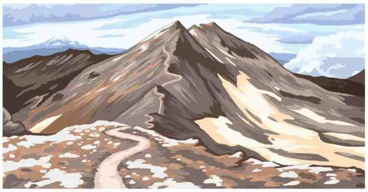 First Row Illustration Ridge