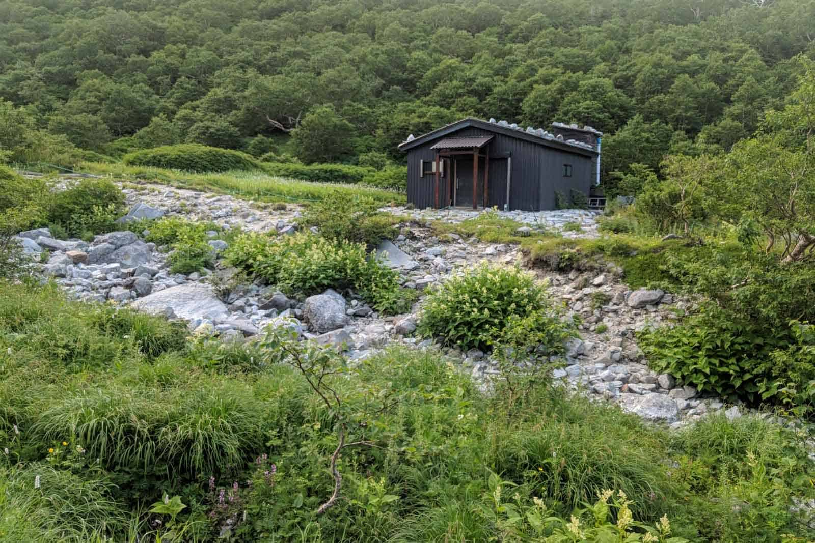 Japan Traverse Chuo Alps Final Hut