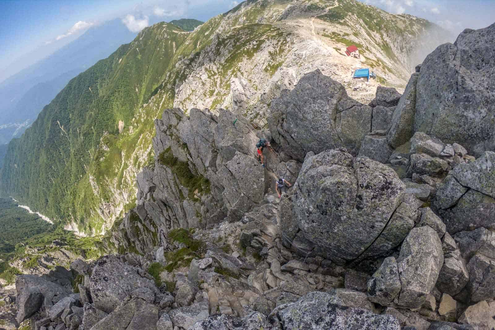 Japan Traverse Chuo Alps Scramble