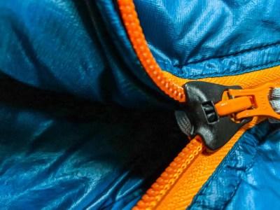 Montbell Down Hugger 900 #3 Zipper Open