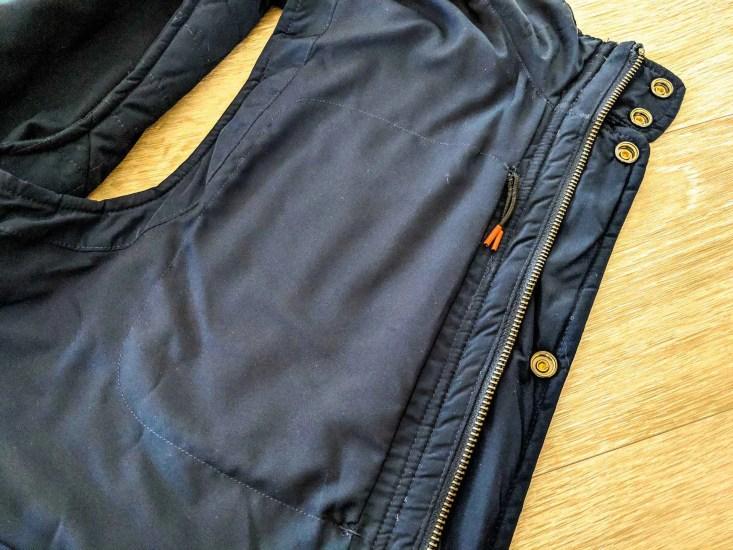 Bluffworks Horizon Quilted Vest Interior Chest Pocket