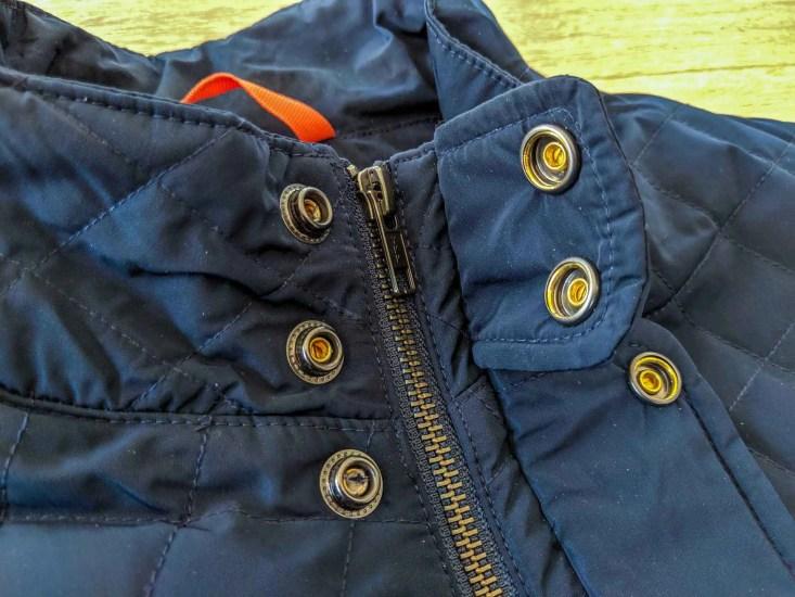 Bluffworks Horizon Quilted Vest Collar
