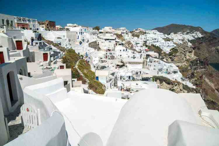 Greece Santorini Buildings