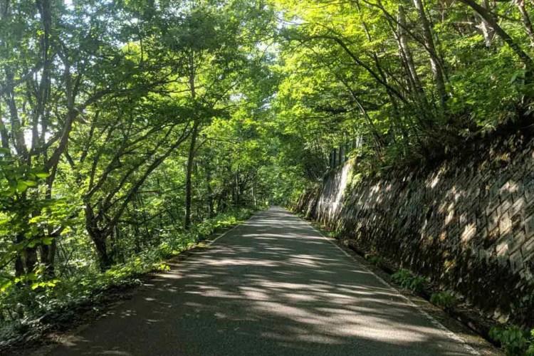 Japan Alps Traverse Long Road Walk