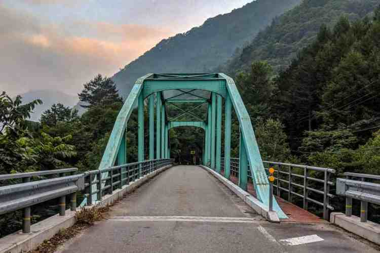 Japan Alps Traverse Road Walk