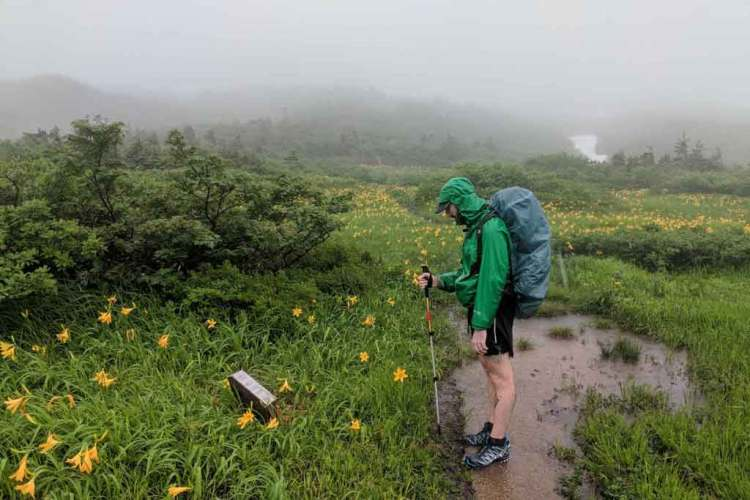 Japan Alps Traverse Kita Alps Rain