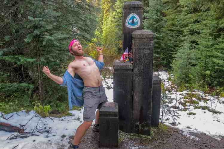 PCT Northern Terminus (Old) Mac