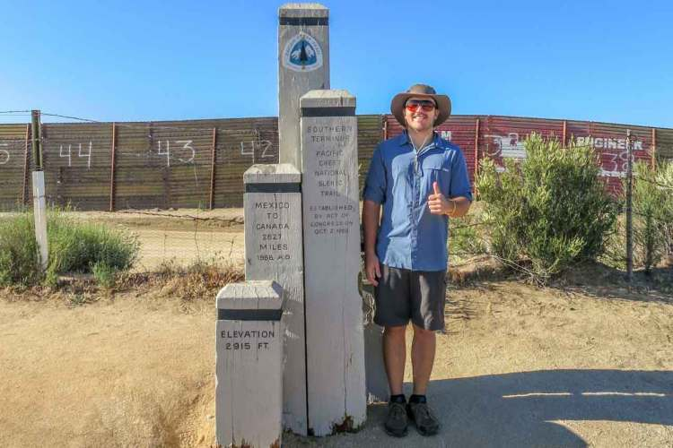 PCT Southern Terminus (Old) Mac