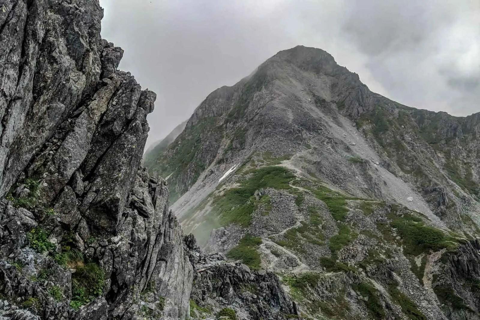 Japan Alps Traverse Kita Alps Clouds