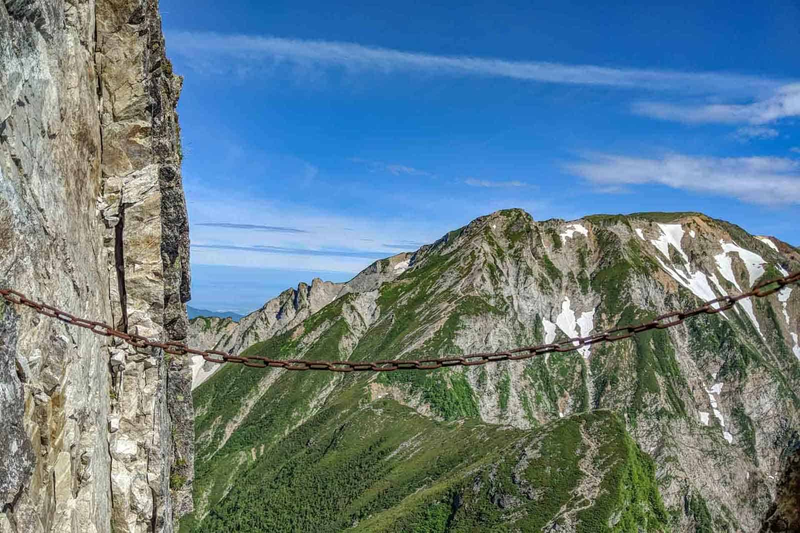 Japan Alps Traverse Kita Alps Chain