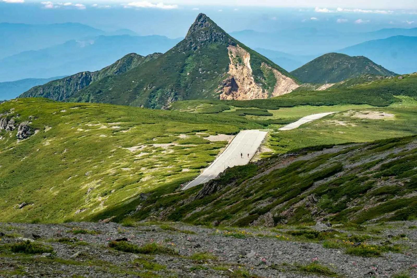 Japan Alps Traverse Kita Alps Norikuradake Approach