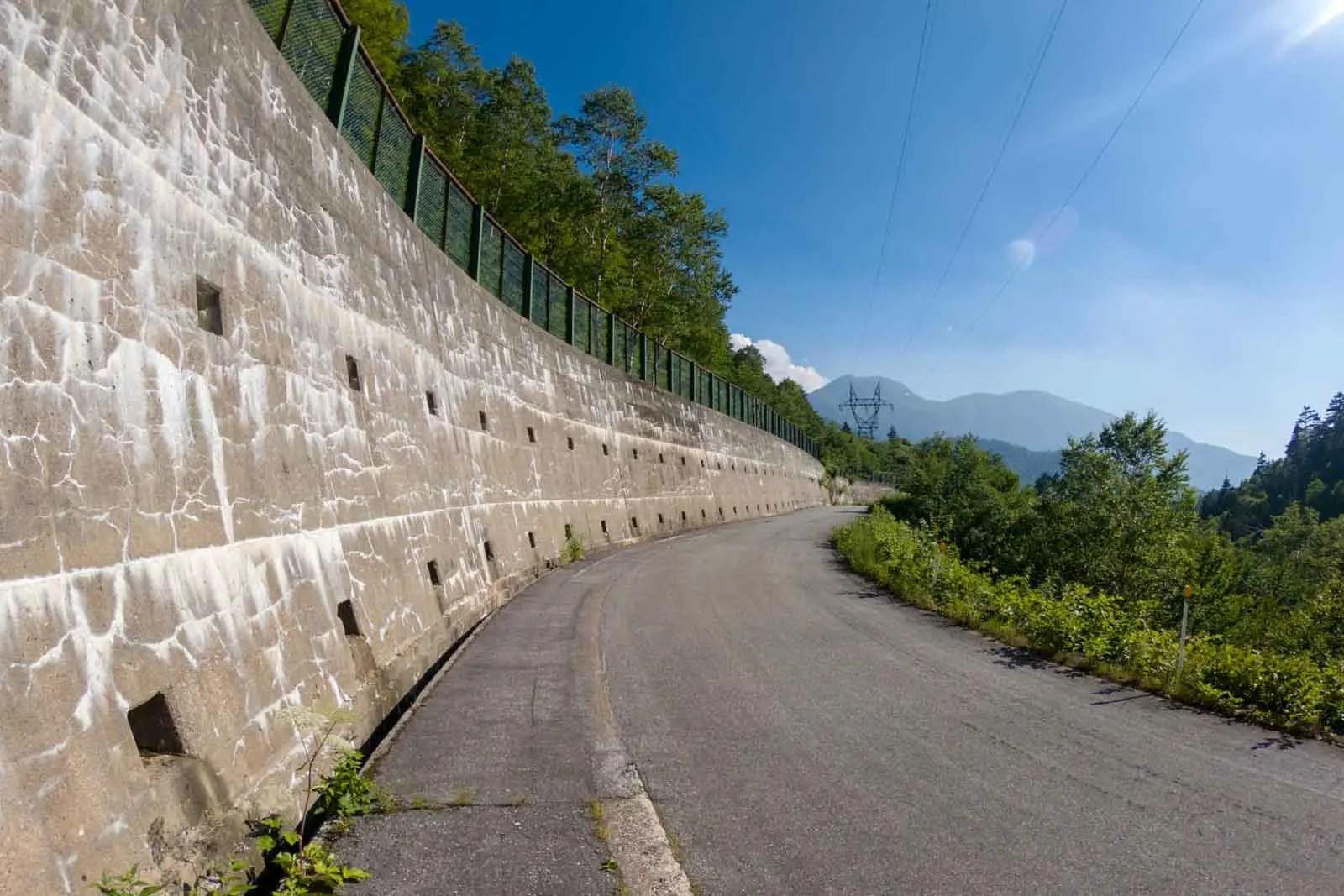 Japan Alps Traverse Kita Alps Road Walk