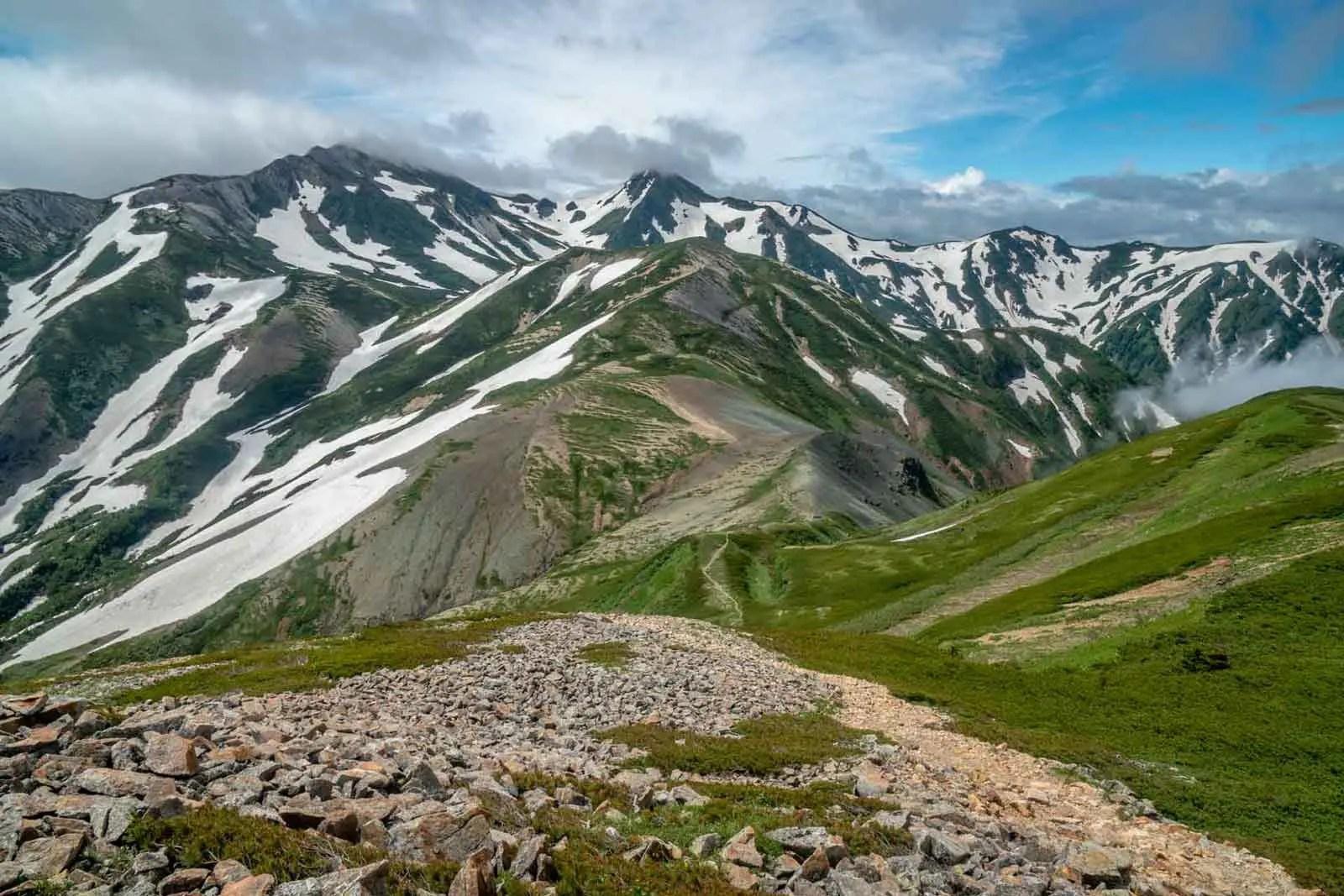 Japan Alps Traverse Kita Alps Clearing