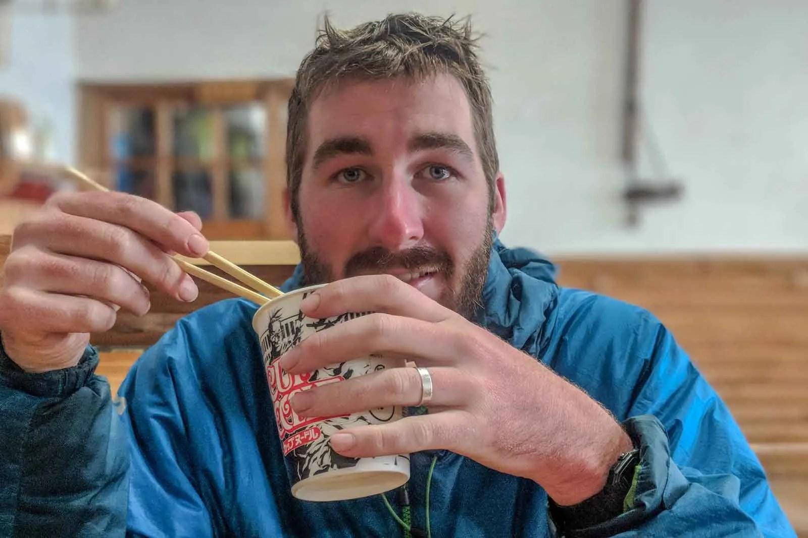Japan Alps Traverse Kita Alps Noodles