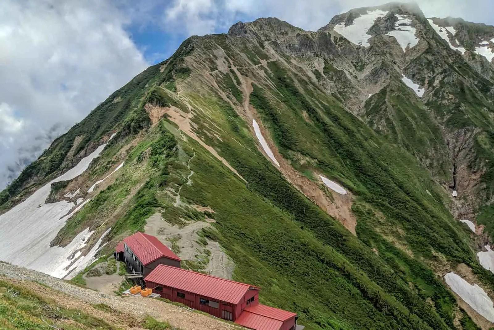 Japan Alps Traverse Kita Alps Ridgeline Hut