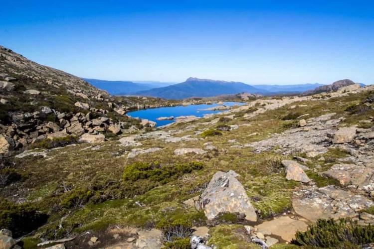 Tasmania Mount Anne Circuit Tarn