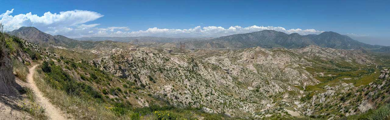PCT Desert - Cajon Junction Panorama