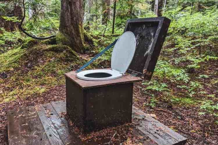Washington Wonderland Trail Backcountry Toilet