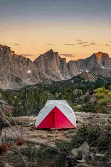 Sunrise Wind River Range