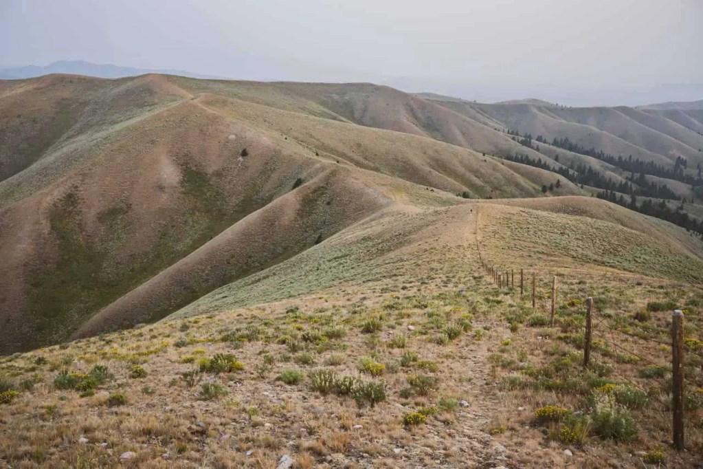 The CDT along the Idaho-Montana border