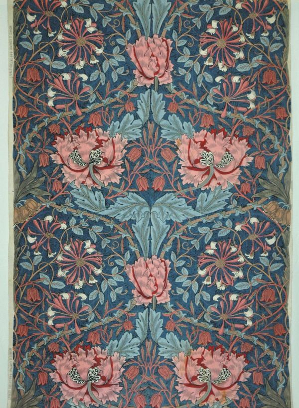 English Textile Design Of Late 19th Century Mak