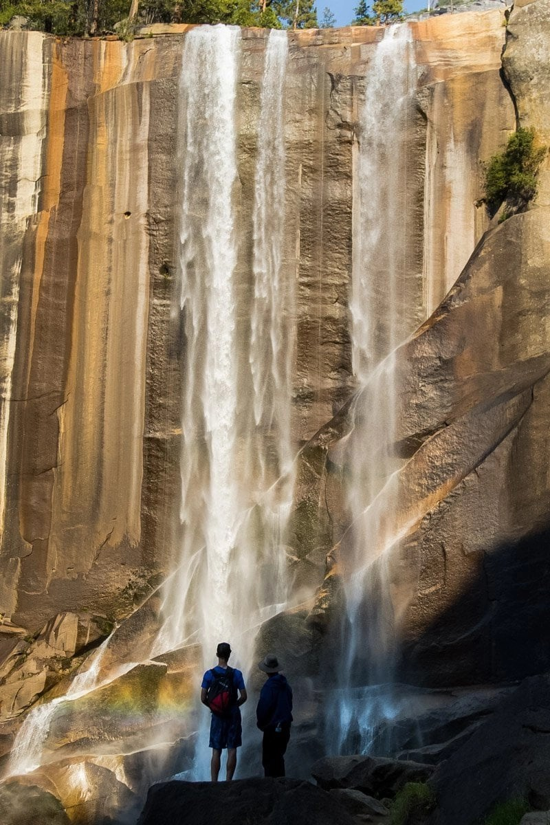 vernal falls in yosemite