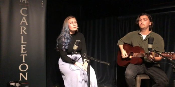 Live at The Carleton with Becca Guilderson and Jordan Ginn
