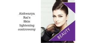 Aishwarya lightened skin