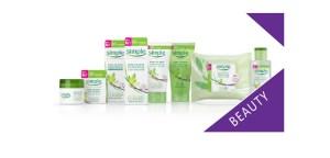 Simple for sensitive skin skincare