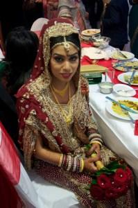 Asian Bridal headpiece