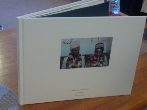 A Photobox wedding album