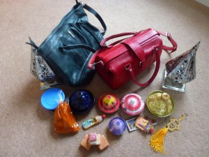 Moroccan buys - leather handbags, tagines, solid perfume