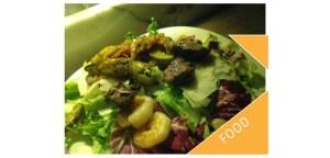 Insalata Reef 'n' beef - prawn and beef salad at Vapiano halal Italian