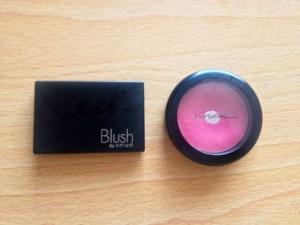 Sleek Flamingo blush and Mac Dollymix blsh